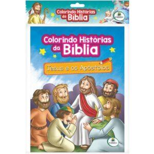 Colorindo Histórias da Bíblia-Kit c10 Und