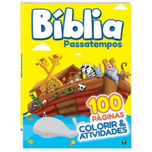 Colorir & Atividades Bíblia - Passatempos