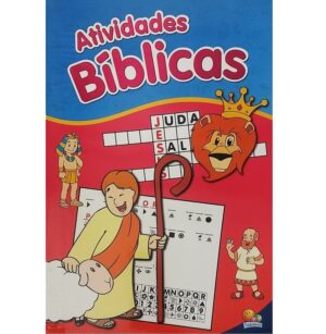 Livro gigante de atividades biblicas