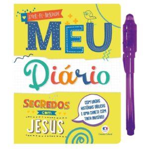 Meu diário: Meu segredo com Jesus