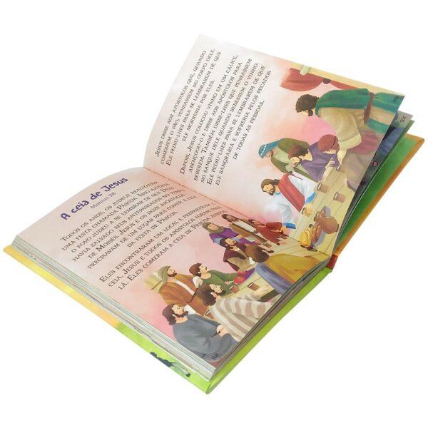 Bíblia Infantil Letras GRANDES