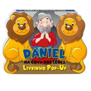 livro pop-up Daniel na Cova do Leões