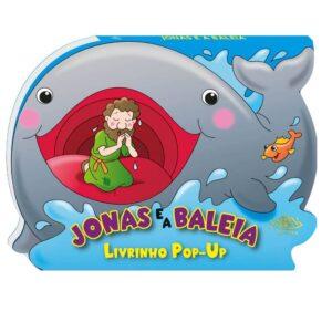 Livro Pop-up Jonas e a Baleia