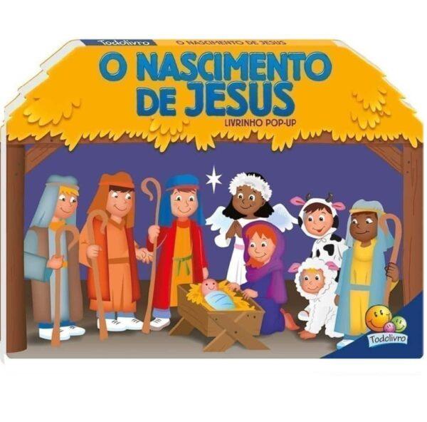 Livrinho Pop up Nascimento de Jesus