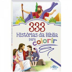 333 Histórias da Bíblia para Colorir