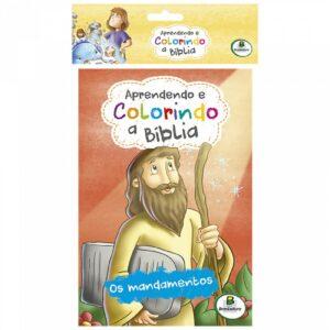 Aprendendo e Colorindo a Bíblia Kit c/10 Und