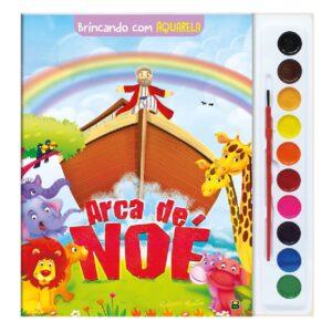 Brincando com Aquarela: Arca de Noé
