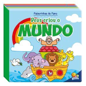 PALAVRINHAS DE PANO DEUS CRIOU O MUNDO