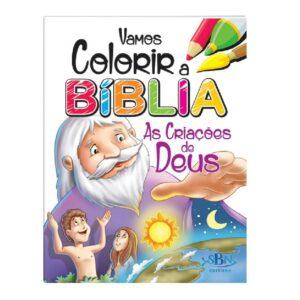 Vamos Colorir a Bíblia As criações de Deus