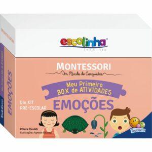 Montessori Meu Primeiro Box de Atividades