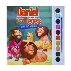 Livro com Aquarela - Daniel e Leões