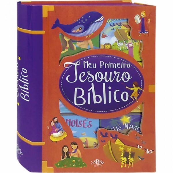 BOX C/6 UND: Meu Primeiro Tesouro Bíblico
