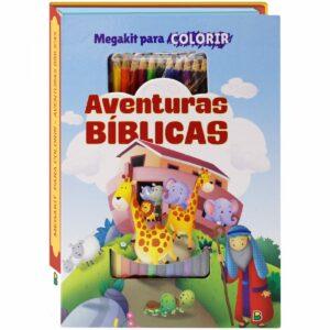 Megakit para Colorir: Aventuras Bíblicas