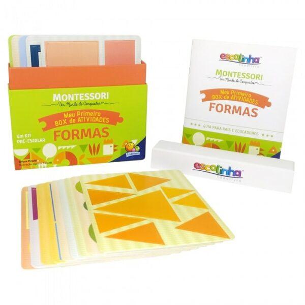 Montessori Meu Primeiro Box de Atividades... Formas
