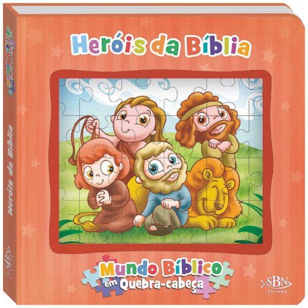 Mundo Bíblico em quebra-cabeça: Heróis da Bíblia