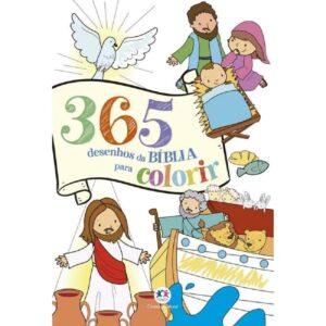 365 Desenhos da Bíblia para Colorir