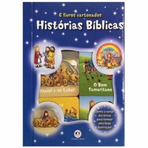 Histórias bíblicas - Box com 6