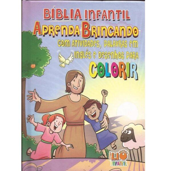 Bíblia Infantil - Aprenda Brincando Com Atividades